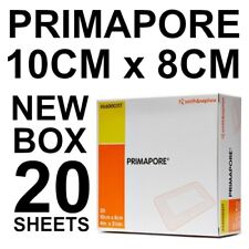 PRIMAPORE 10CM X 8CM BOX 20 Melolin adhesive low allergy ISLAND DRESSING