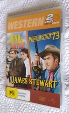 BEND OF THE RIVER / WINCHESTER 73 (DVD, 2-DISC) R-2,4, LIKE NEW, FREE POSTAGE