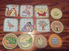 Disney Winnie the Pooh Tigger Eeyore Piglet  Fabric Iron On Appliqués style #10