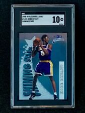 1998-99 Fleer Brilliance #14SS Kobe Bryant Shining Stars SGC 10
