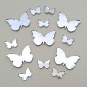 Decorative Big Wing Butterfly Bundle Mirrors (Several Colours & Sizes Available)