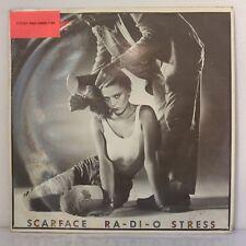 "Jennifer – Ra-Di-O Stress / Scarface (Vinyl, 12"", Maxi 45 Tours, Promo)"