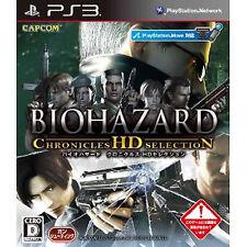 BIOHAZARD  PS3 Japan BIOH AZARD CHRONICLES HD SELECTION