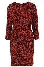 Topshop Polyester Animal Print Dresses for Women