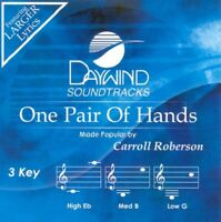 Carroll Roberson -  One Pair Of Hands -  Accompaniment / Performance Track - New