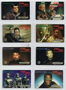 Mercury Star Trek 31 different cards out of set of 33 issued all mint including.