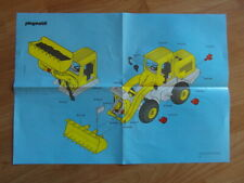 Playmobil BAUANLEITUNG Radlader