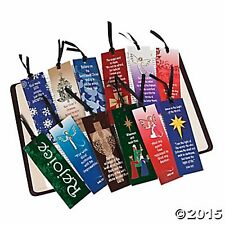 144 Christmas Religious Bookmarks Assortment NEW huge lot NICE