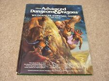 AD&D 1st edition Wilderness Survival Guide hardcover