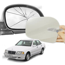 Replacement Side Mirror LH RH 2P + Adhesive for Mercedes-Benz 1997-2000 Car