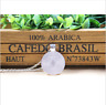 With Moon Photo Cabochon Glass Tibet Silver Locket Pendant Necklace