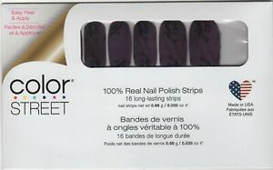 CS Nail Color Strips Smokes on You New for Fall 2020 100% Nail Polish-USA Made!
