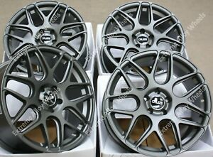 "18"" Grey CR1 Alloy Wheels Fits Ford Grand C Max Edge Focus Kuga Mondeo 5X108"