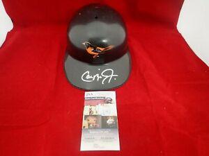 Cal Ripken Jr Signed Autographed Orioles F/S Souvenir Batting Helmet JSA NN91179