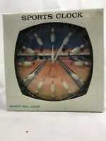 Bowling Sports Quartz Wall Clock NIB