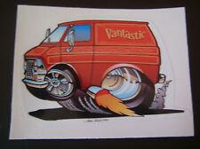 '69 -'74  2nd Generation Ford Econoline Sticker Red