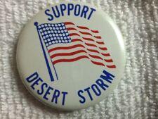 Original  Metal - Operation Desert Storm Pin/Badge/Button