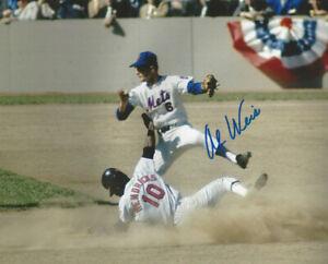 1969 New York Met Al Weis  autographed 8x101969 World Series photo