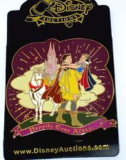 Rare Le 100 Disney Auction Pin✿Snow White Dwarfs Happily Ever After Prince Horse