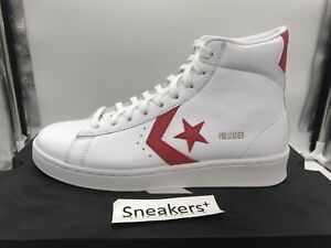 Converse Pro Leather Hi All-Star Pack High Top Sneakers White/Red Chuck