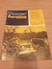 Australian Power Farming Magazine - July 1974