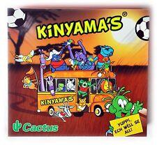 Cactus Kinyamas  Fussball WM 2010 Buch Diorama mit 33 Figuren und Brettspiel