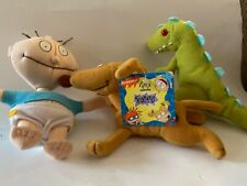 Spike the dog 7 inch mini bean bag plush, Rugrats; Applause NWT + TOMMY & REPTAR
