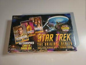 "1997 STAR TREK Original Series ""SEASON ONE"" Trading Card FACTORY SEALED BOX"