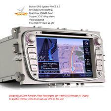 "Italiano Ford Autoradio Mondeo Focus C S-Max Galaxy Car DVD GPS DVR SWC 7""7189IT"