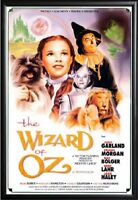 THE WIZARD OF OZ MOVIE POSTER FRAMED (BLACK)