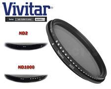 Vivitar 40.5mm Neutral Density Variable Fader NDX Filter ND2~ND1000 ND16 ND32