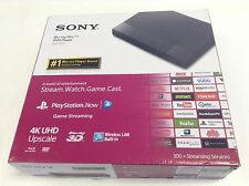 Sony Bdp-S6500 3D Blu-ray Dvd Player WiFi 4K Upscaling Bdps6500 W/Box New Other
