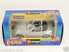 [PG3-37] BBURAGO BURAGO 1/43 STREET FIRE #4169 BMW M ROADSTER GREY GRIGIO NEW