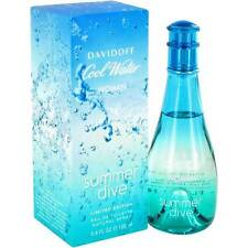 COOL WATER SUMMER DIVE BY DAVIDOFF 100ml/ 3.4OZ EDT FOR WOMEN DISCONTINUED RARE
