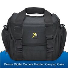 Padded Camera bag Case for Nikon Canon Pentax Sony Olympus Panasonic DSLR Camera