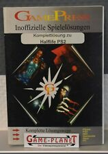 Half-Life ps2 Ultimate inoffi. solución libro solución completa GamePress einkaufgp