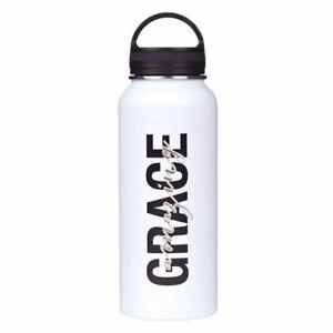 Stainless Steel Water Bottle: Amazing Grace