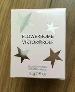 BRAND NEW BOXED 100% GENUINE VIKTOR AND ROLF FLOWERBOMB CANDLE IDEAL GIFT 75G