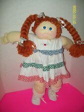 SOFT SCULPTURED CABBAGE PATCH KID GIRL   1985  030