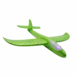 Wurfgleiter Flugzeug mit LED Outdoor Wurf Flieger Segelflugzeug Gleiter Kinder