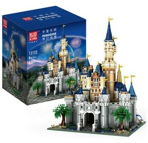 Mould King 13132 Princess Disney Castle MOC Building Blocks Set 8388+pcs