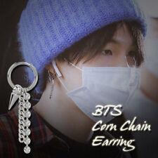 2018 Korean Jewelry KPOP BTS Bangtang Boys Jin V Earrings Long Tassel Earring