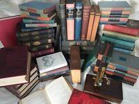 Lot of 10 ANTIQUE VINTAGE Hardcover OLD BOOKS 1880s - 1960 FINE