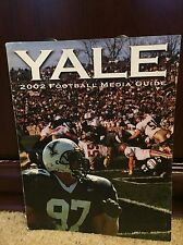 2002 YALE COLLEGE FOOTBALL MEDIA GUIDE - b3
