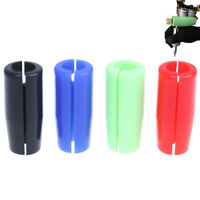 1X Tattoo Machine Gun Grip Silicone Cover Holder Pad Anti Shock Protect Knuc qt