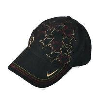 Nike Wool Baseball Cap Ronaldinho #10 Embroidered Golden Swoosh Logo Soccer