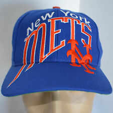 VTG New York Mets NY The Game Snapback Hat MLB Blue Baseball Ball Cap Lid Sports