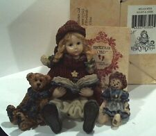 Yesterday's Child...Dollstone - MEGAN with ELLIOT and ANNIE  Chirstmas Carol Ret