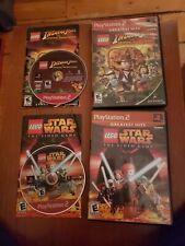 Ps2 playstation 2 LEGO Star Wars and Indiana Jones