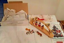 kathe wohlfahrt Rothenburg tauber germany christmas ornament & Candle Holder Mib